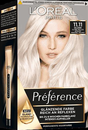 Preference Haar Coloration Serie Als Gel L Oreal Paris