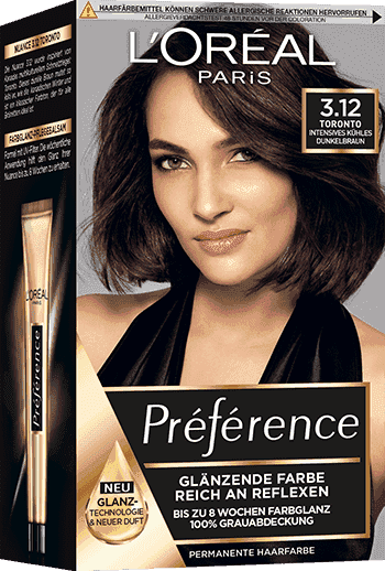 Preference Haar Coloration Serie Als Gel L Oreal Paris